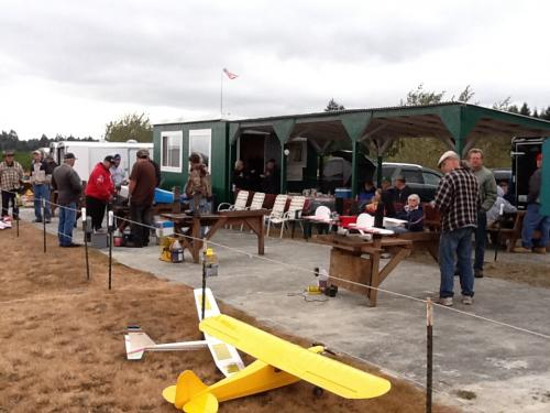 Open house at the field 2016