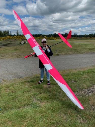 Sandie Pugh MAXA at our field